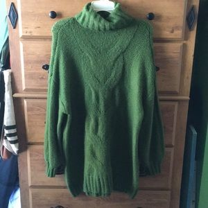 NWOT American Eagle Oversized Happy Place Sweater